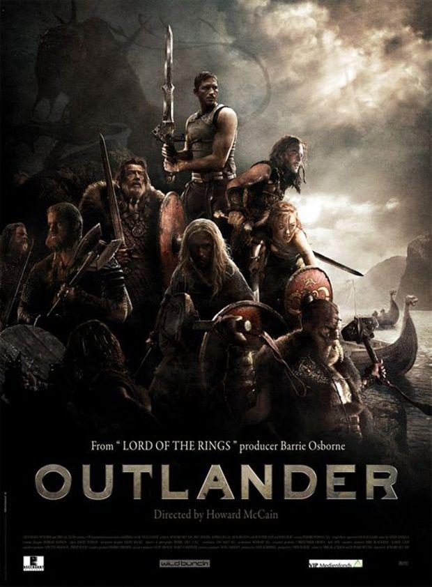 Howard Mccain Jim Caviezel Poster Others Outlander Mega Filmes Online Posteres De Filmes Lixeira Carro