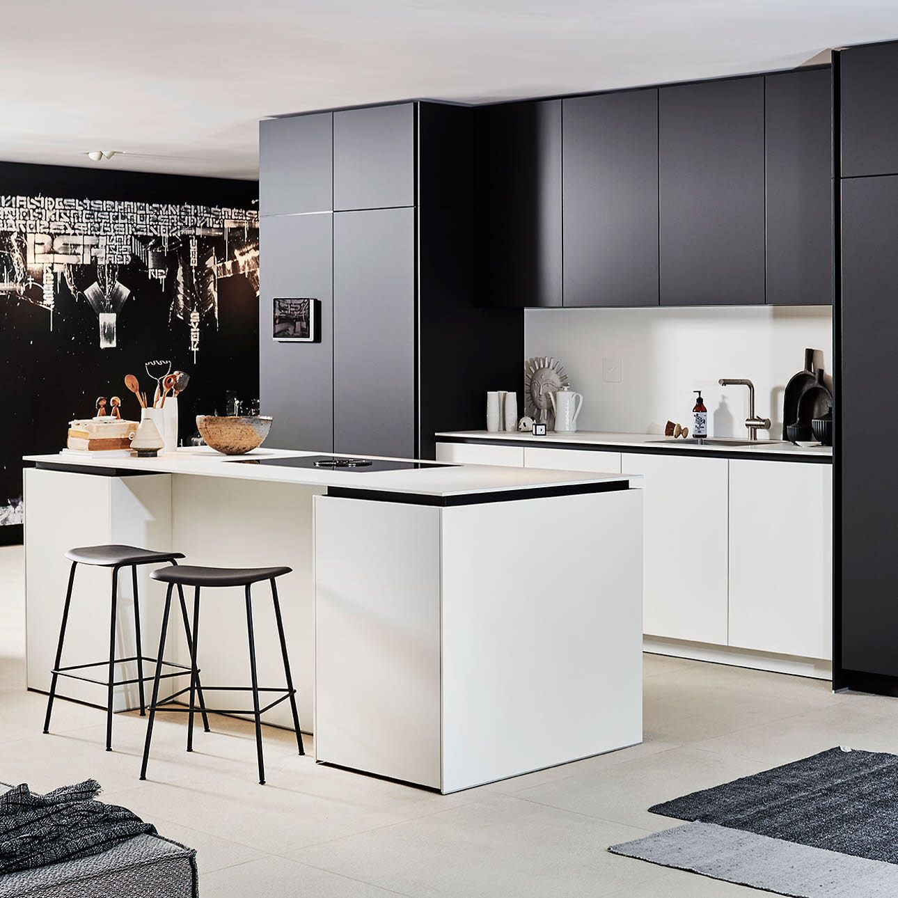 +SEGMENTO Y White kitchen design, Kitchen collection