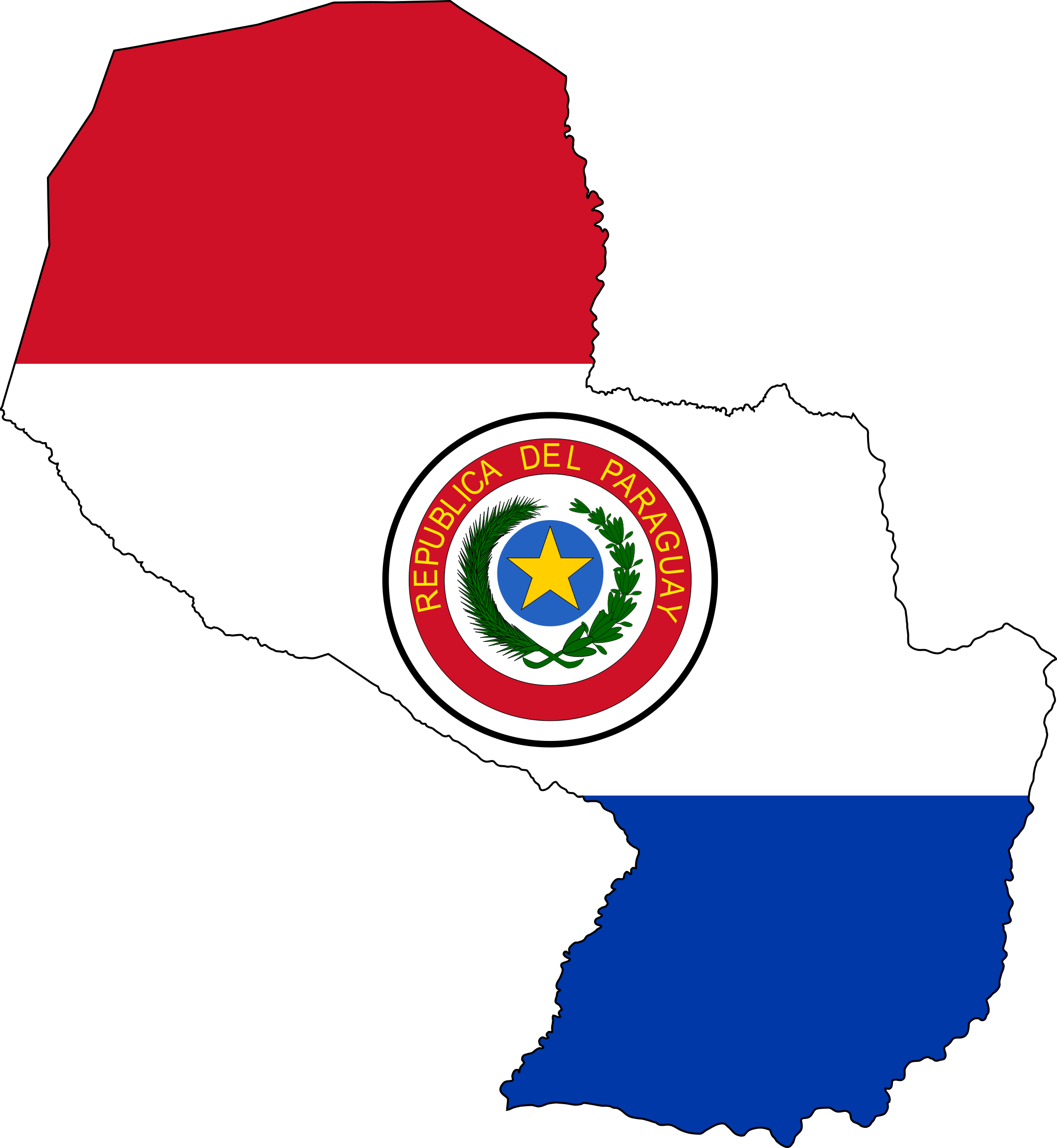 Paraguay Flag Maps Pinterest Large Flags And Maps - South america map and flags