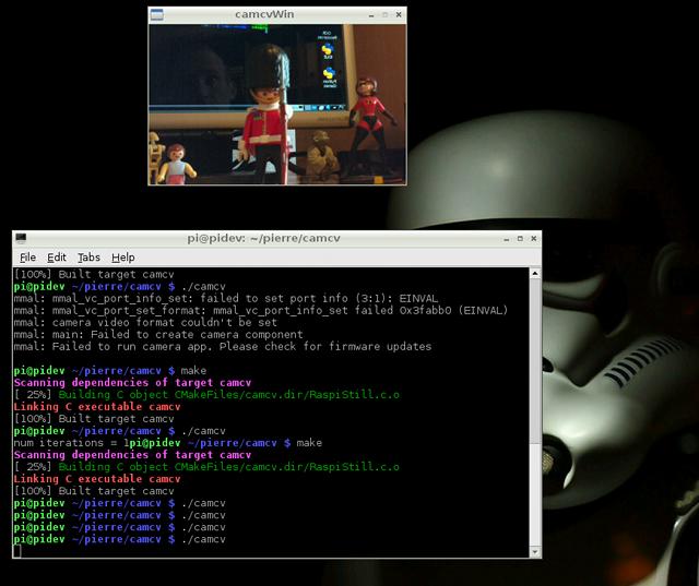 OpenCV and Pi Camera Board ! | Raspberry Pi | Raspberry pi