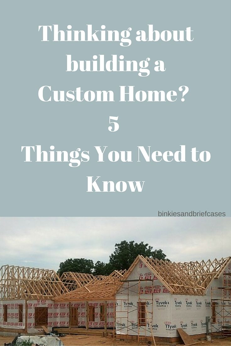 Five things to consider while building a custom home for Custom home building tips