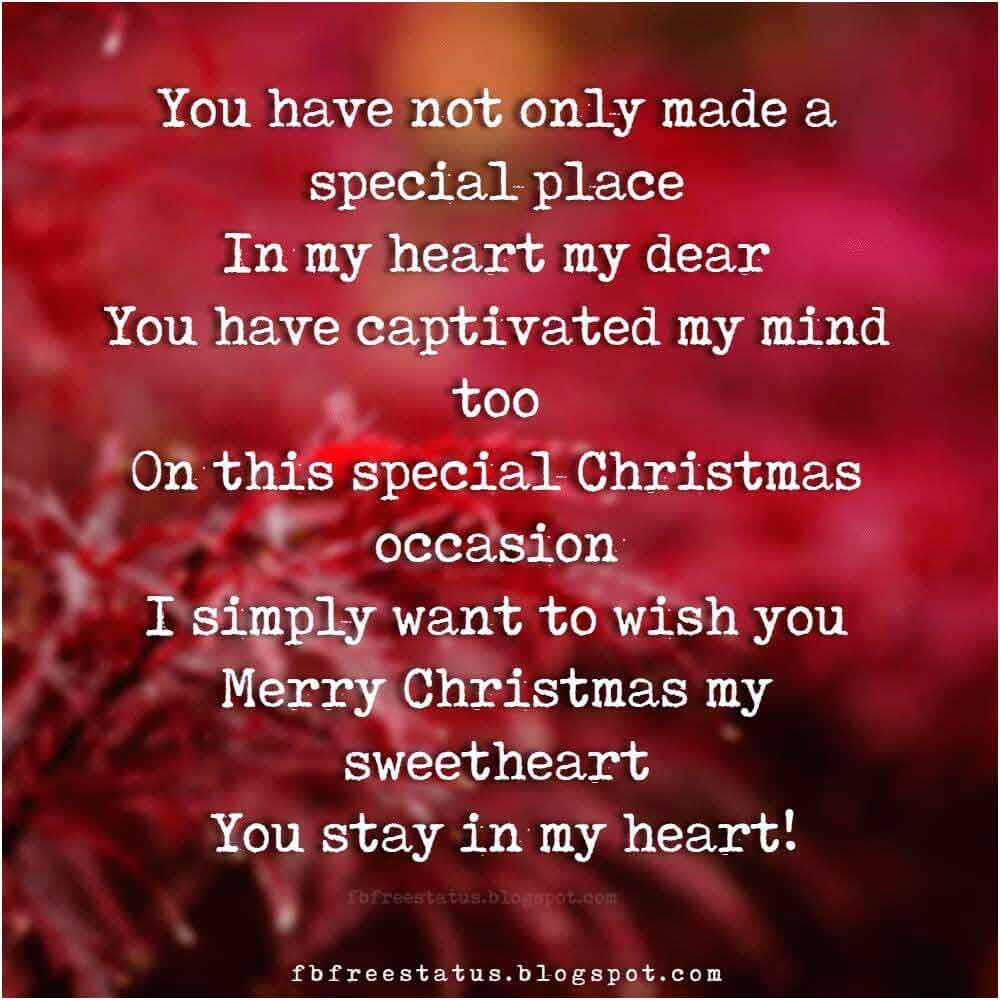 Perfect Christmas Love Quotes For Boyfriend And Girlfriend With Images