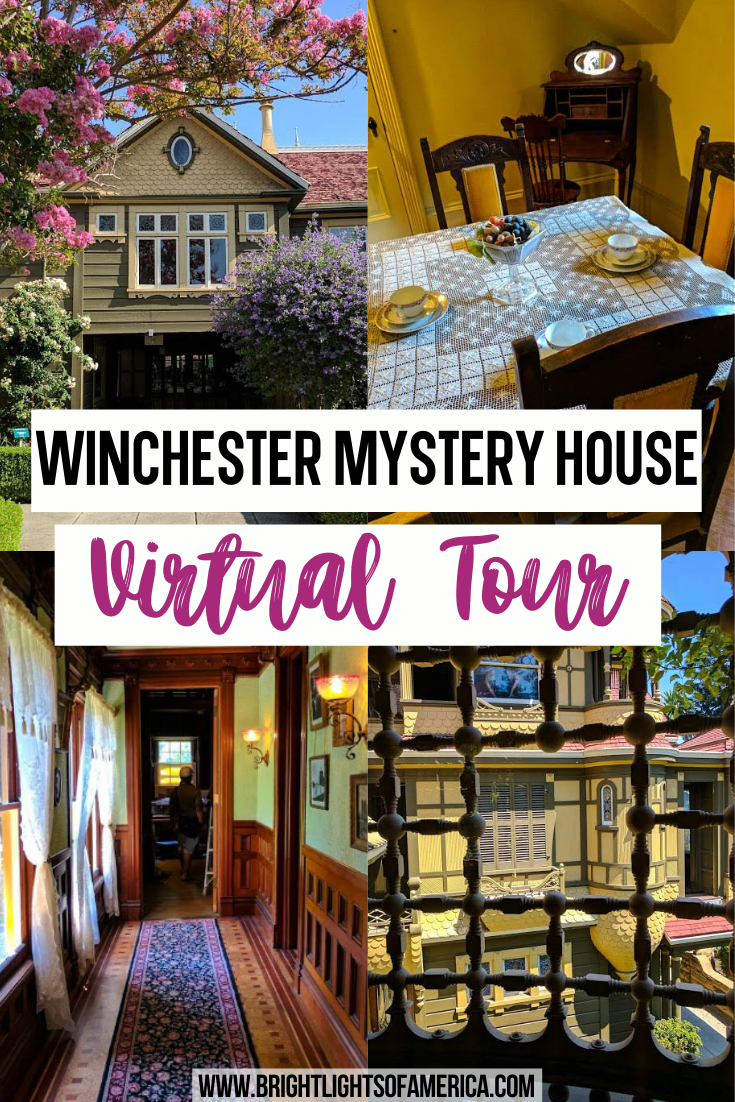 Winchester House Virtual Tour Pictures From Inside Winchester House Virtual Travel San Francisco Travel
