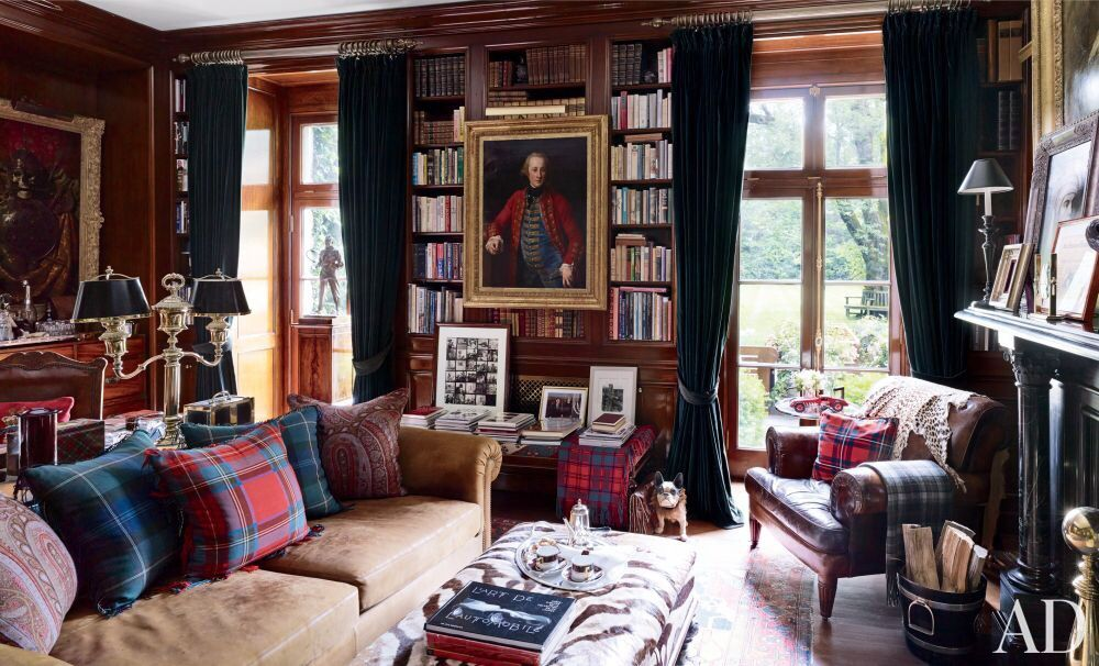 Traditional Office Library By Ralph Lauren At Ralph Lauren S