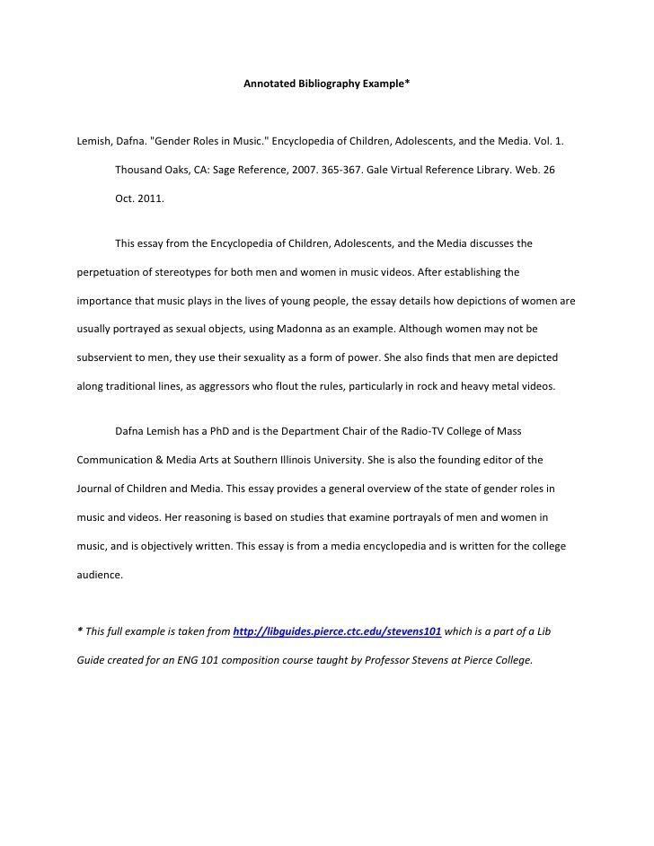 do annotated bibliography essay The mla handbook, eighth edition does not include guidelines for formatting an annotated bibliography however, your professor may assign an annotated bibliography in mla style.