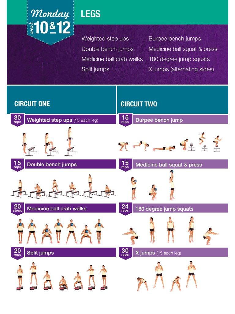 Kayla Itsines 12 Week Workout Plan Pdf