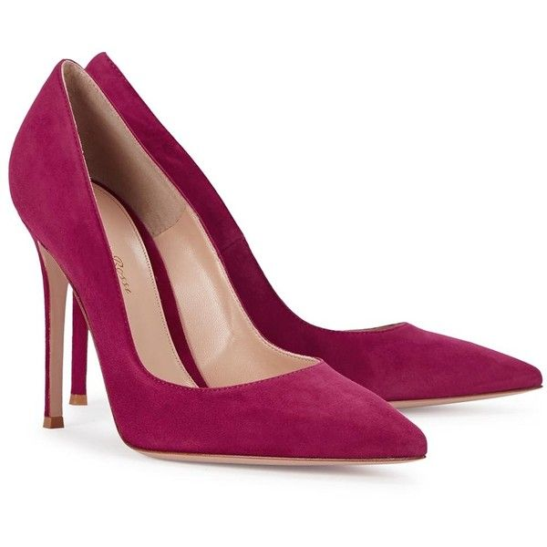 Womens Pointed-Toe Pumps Gianvito Rossi