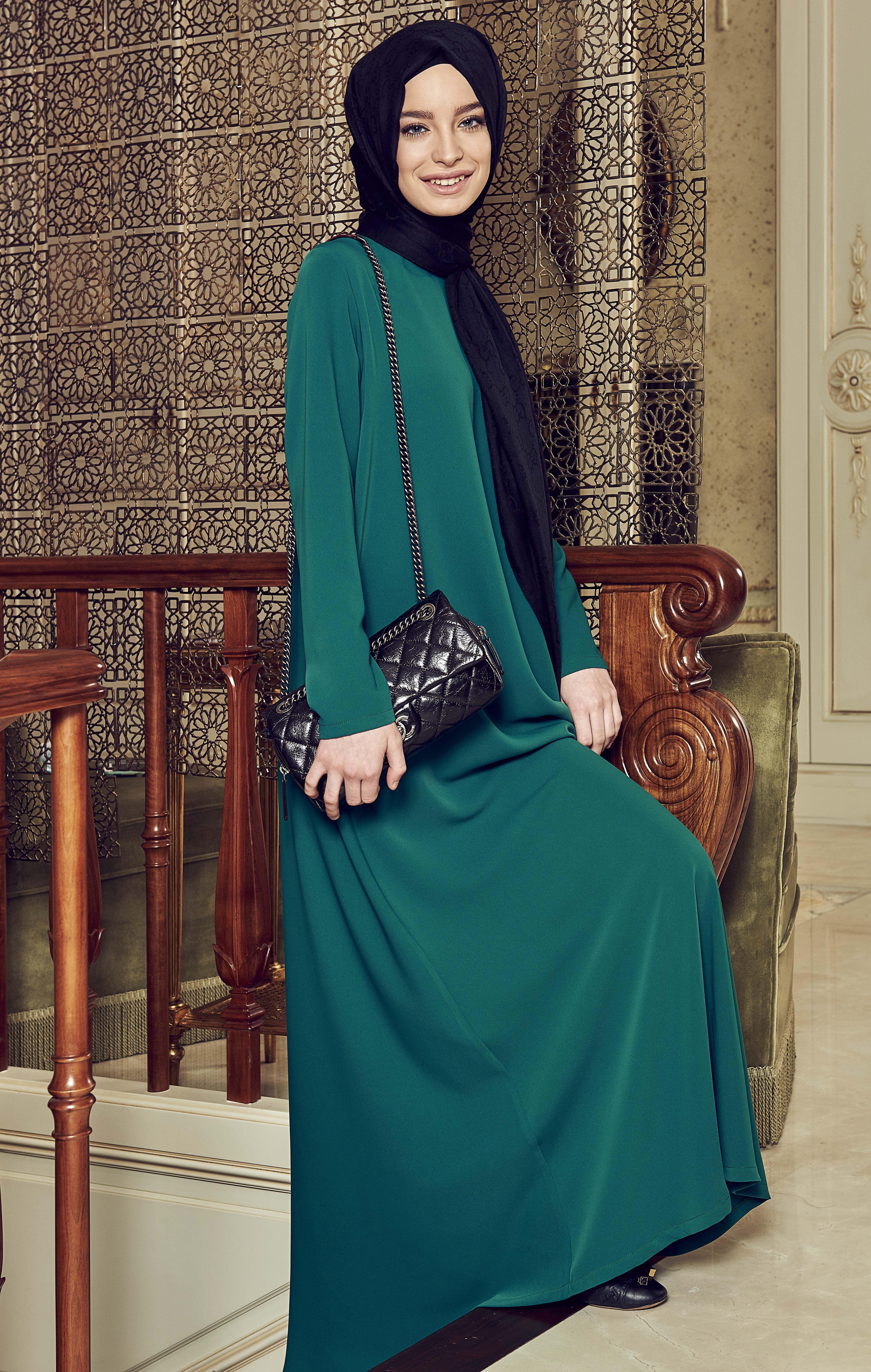 f7b15b7abd9d8 Terzi Dükkanı Uzun Elbise instagram : terzi_dukkani #tesettürgiyim #tesettür  #hijab #hijabfashion