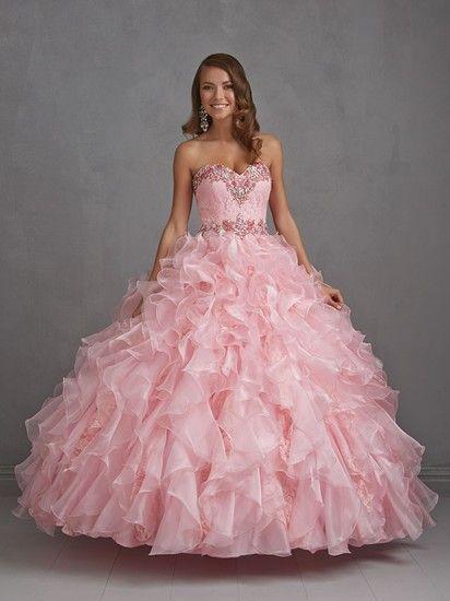 f54f5ca622 vestidos de xv años color coral