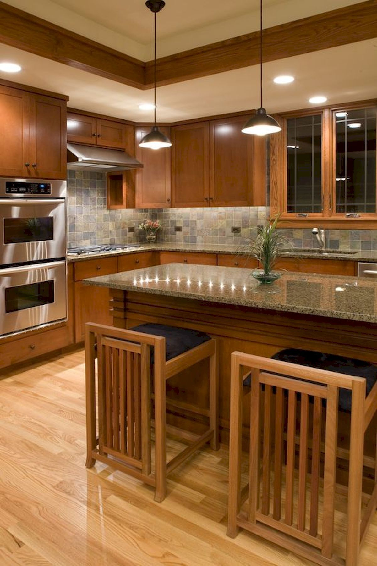 40 Awesome Craftsman Style Kitchen Design Ideas (31 #craftsmanstylehomes