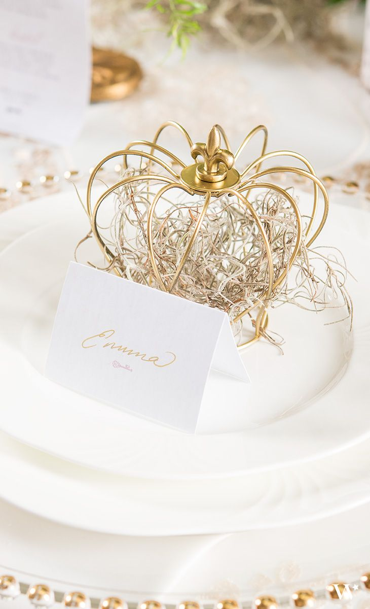 Small Wire Crown Wedding Favor Décor (4) | Pinterest | Wire crown ...