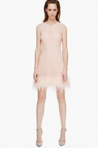 Vestidos de fiesta rosa palo 2014
