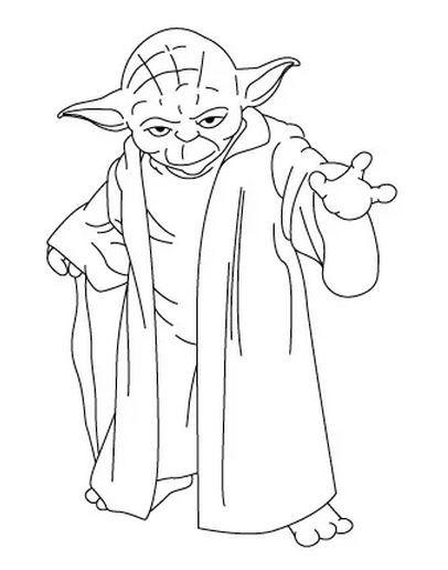 Comment Dessiner Yoda Dessiner Yoda Dessins Star Wars Dessin