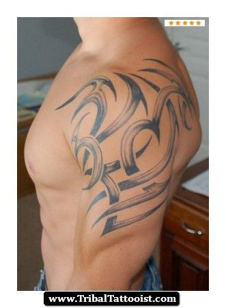 Tribal Tattoos With Names Hidden Mens Shoulder Tattoo Tribal Shoulder Tattoos Tribal Tattoos