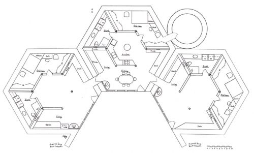Cluster Designs Hexagon House Pod House How To Plan
