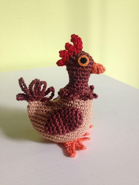Free Pattern On Ravelry Small Chicken Pattern By Wendy Verkooijen