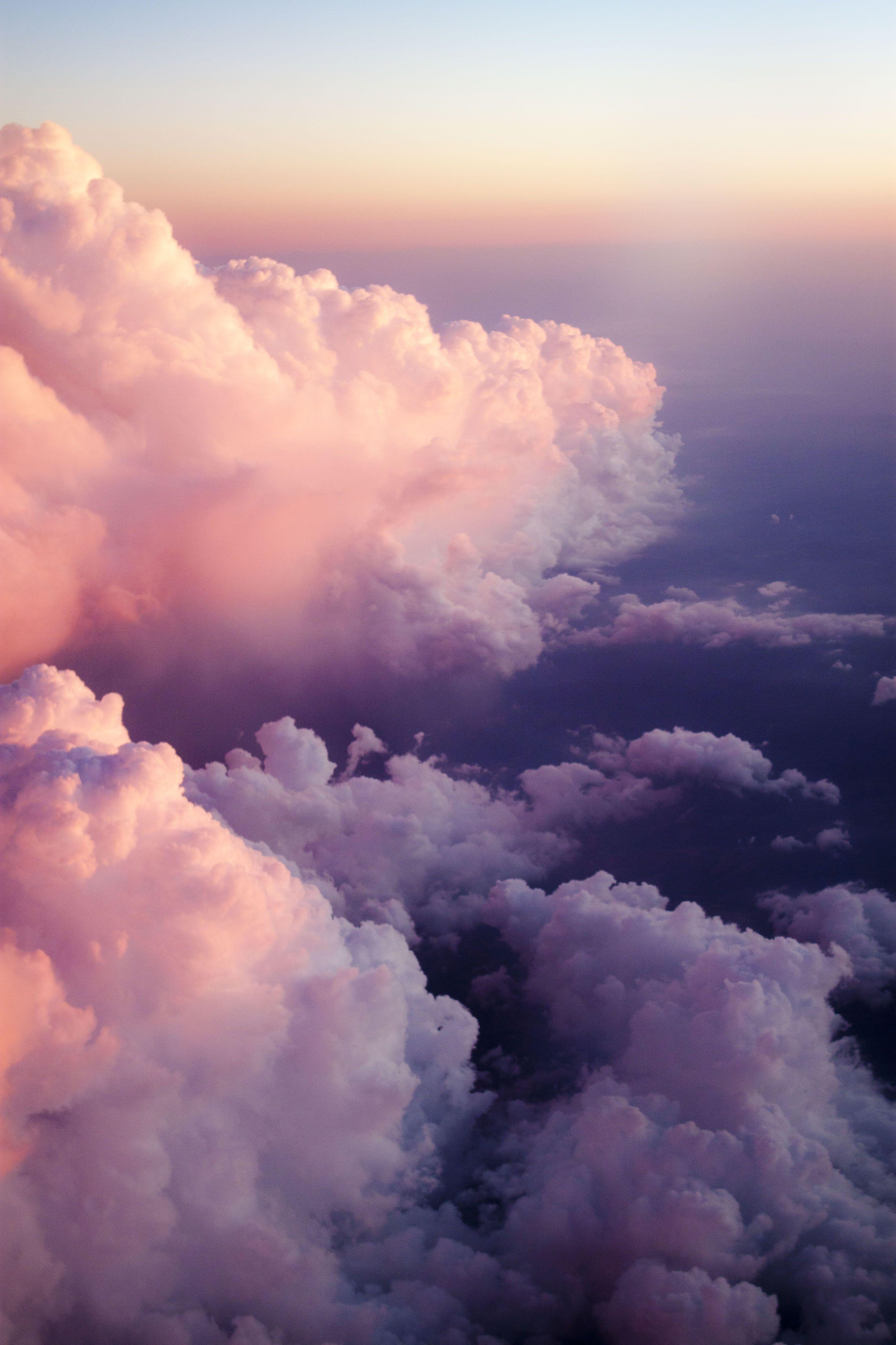 Sunset From Above Fond D Ecran Pastel Fond D Ecran Telephone Fond D Ecran Colore