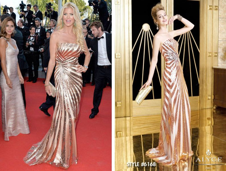 Victoria Silvstedt Cannes Film Festival  2014 Cannes Film Festival Red Carpet Style