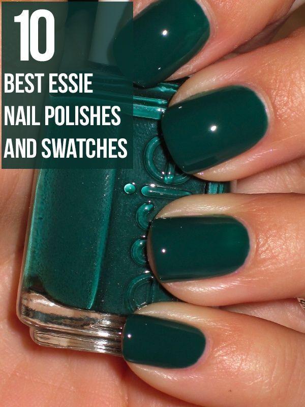 10 Best Essie Nail Polish Swatches - 2018 Update   Essie nail polish ...