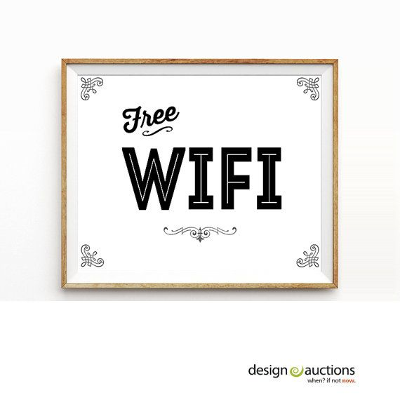 free printable signs for business
