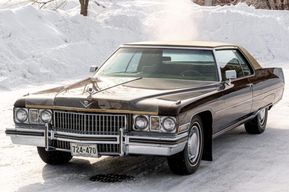 BaT Auktion: 1973 Cadillac Coupé DeVille – Autos – #Auction #Autos #BaT #Cadilla …   – Cars