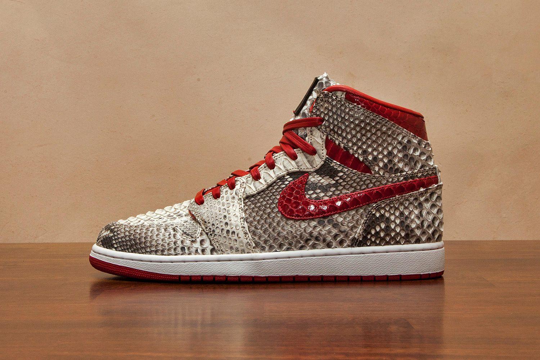 Air Jordan 1 Python Skin by JBF Customs | Jays | Air jordans