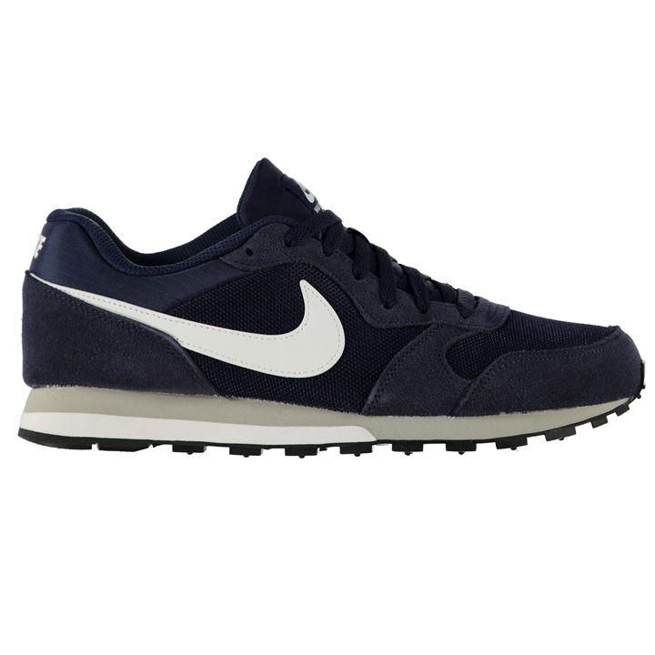 Shoes Outlet - Nike MD Runner 2 Black White Mens Trainers