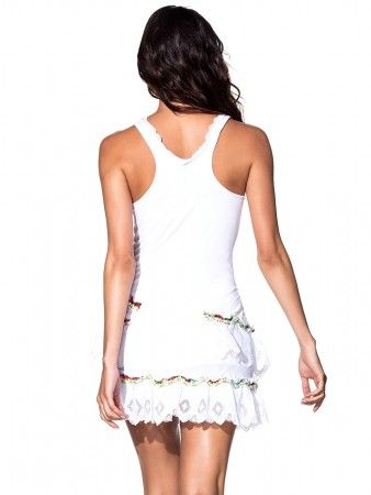 Agua Bendita: Bendito Petalo Dress bikini (AF40015C1)