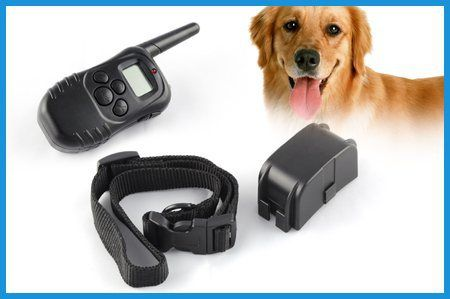 Atc Lcd Remote Dog Training Collar Pet Shock Vibrate Collar Dog