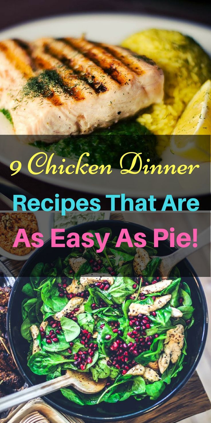 9 genius chicken dinner recipes that use just 5 ingredients or less diy food diy food recipes recipes recipes easy organic food chicken recipes chic forumfinder Image collections