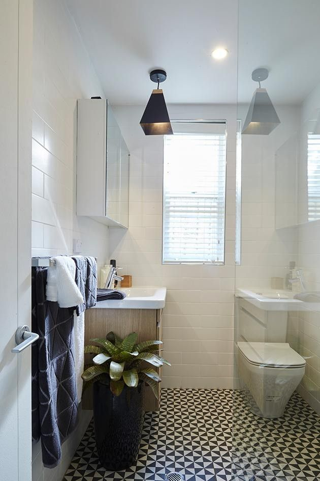 Transformation Photos: Scandi Chic Bathroom - Photos - House Rules ...