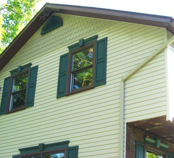 Exterior Window Pediments pediments all new windows shutters