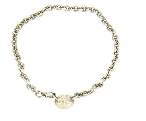 Tiffany & Co Sterling Return to Tiffany Tag Necklace Featured in our upcoming auction on November 2, 2015 11:00AM EST!