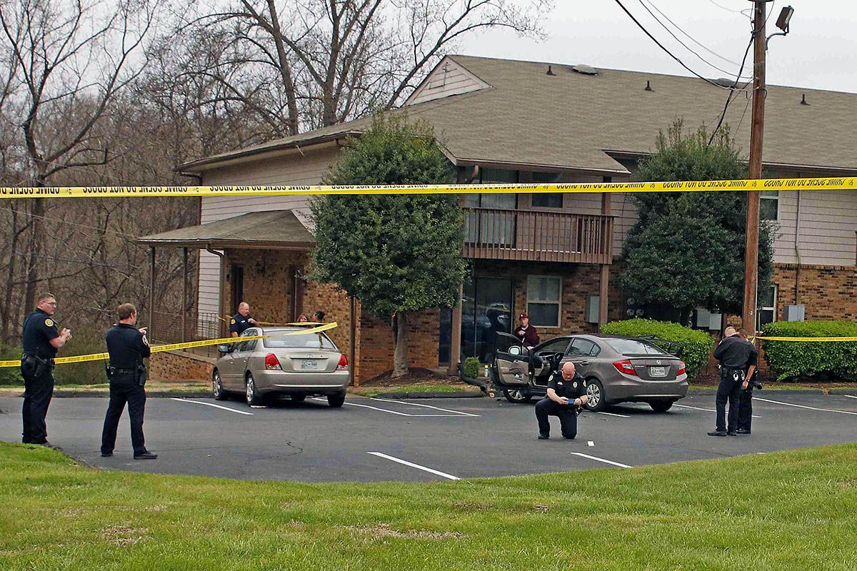 Clarksville Police reports Man Shot on Memorial Drive passes