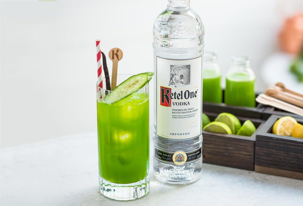 It Isn T Summer Until You Ve Mixed A Cucumber Cocktail Chilled Magazine With Images Cucumber Cocktail Passion Fruit Syrup Vodka Cocktails