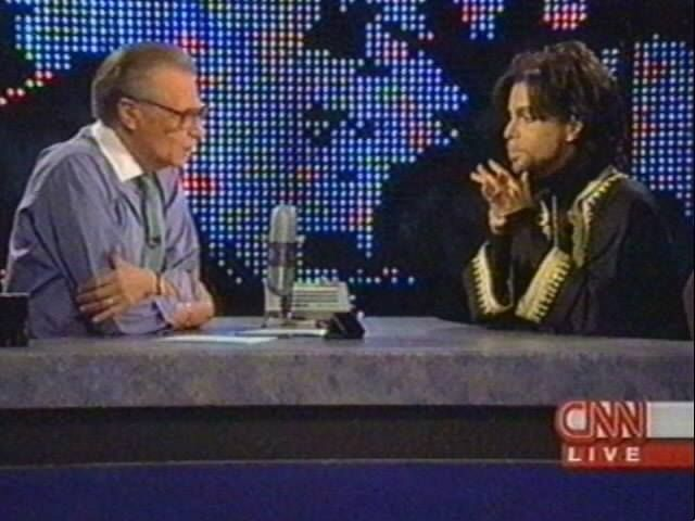 Image result for Larry King and Prince