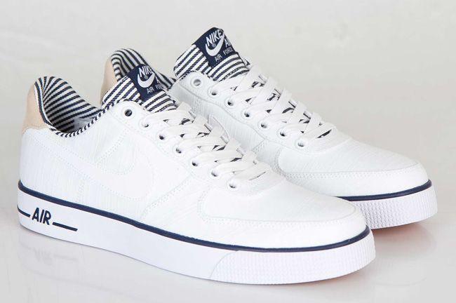 buy online de75d 32a26 Nike Air Force 1 AC Premium QS (Navy Pack)