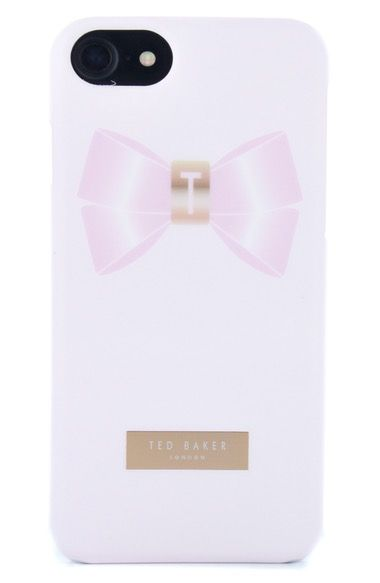 5d6e9bd7a TED BAKER Pomio Bow Iphone 6 6S 7 Case.  tedbaker