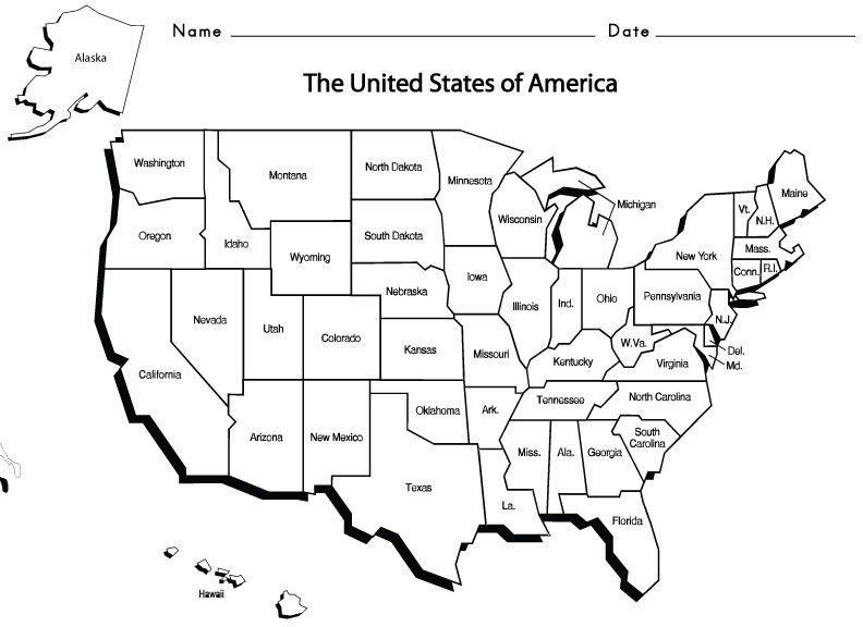USAStates1 Homeschool Geography Pinterest Social studies