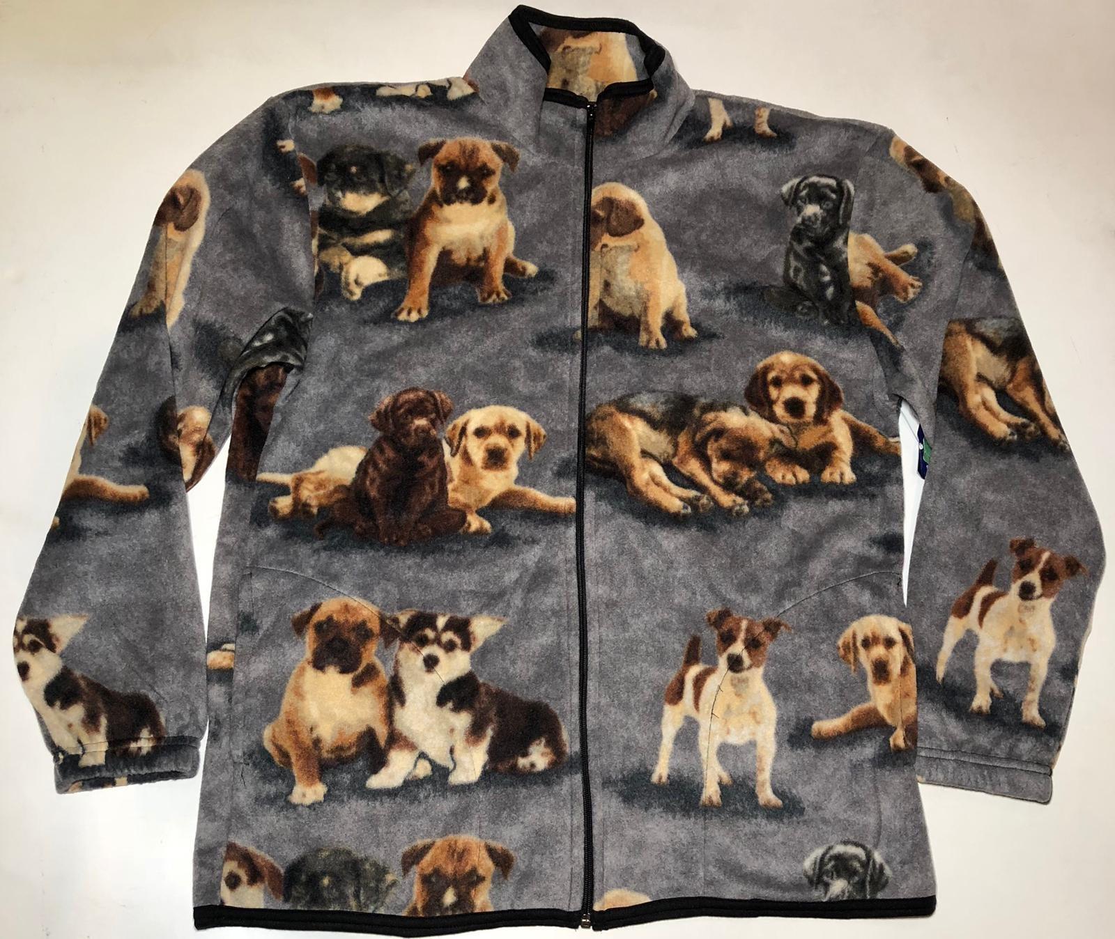 Dogs Cute Puppies Gray Fleece Beagle Beagles Jacket Best Friend