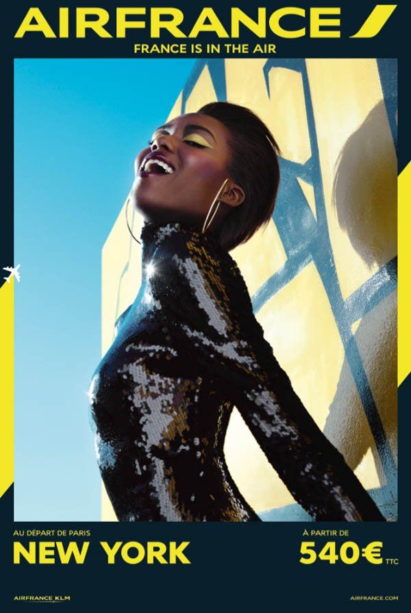 air france travel 2014 campaign6 Air Frances New Campaign Takes You on a Fashionable Tour