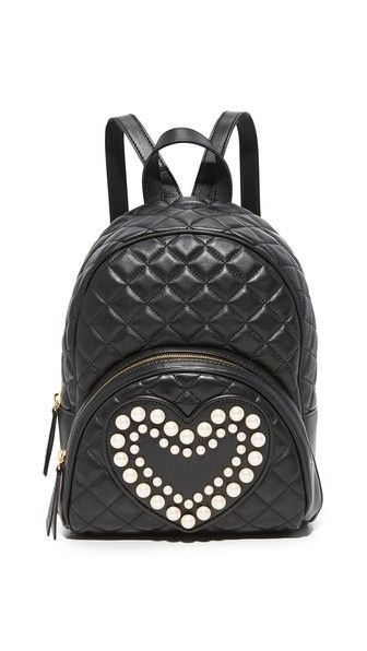 BOUTIQUE MOSCHINO Quilted Backpack.  boutiquemoschino  bags  leather   backpacks   999a12fe8d0