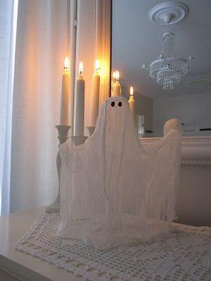 VillaTuta (Mummon pajukori): Halloween aave