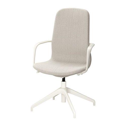 Ikea Bürostühle långfjäll drehstuhl gunnared beige weiß drehstuhl bürostühle