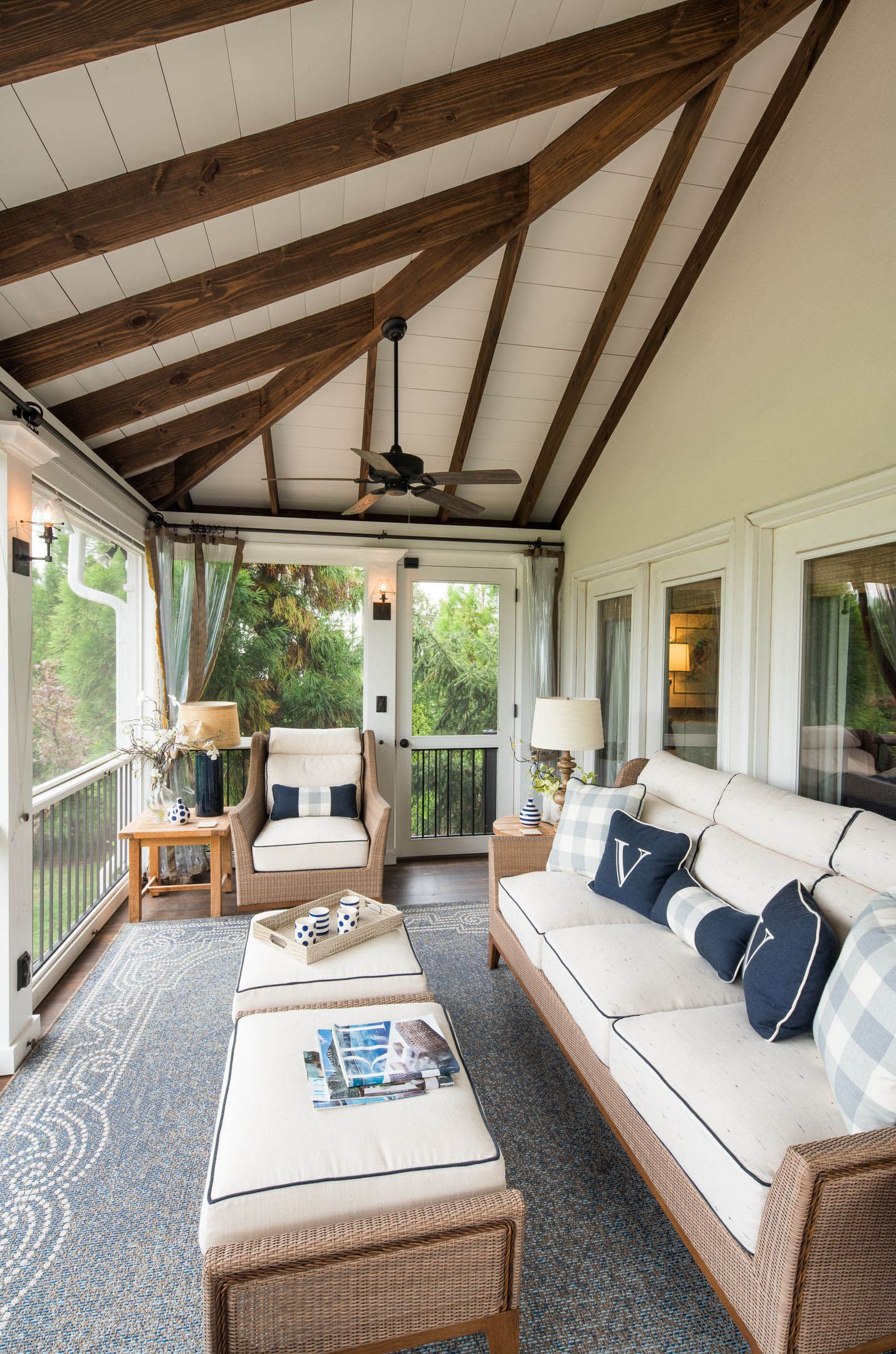 Photos Of Screen Porches  Porch design, Screened porch designs