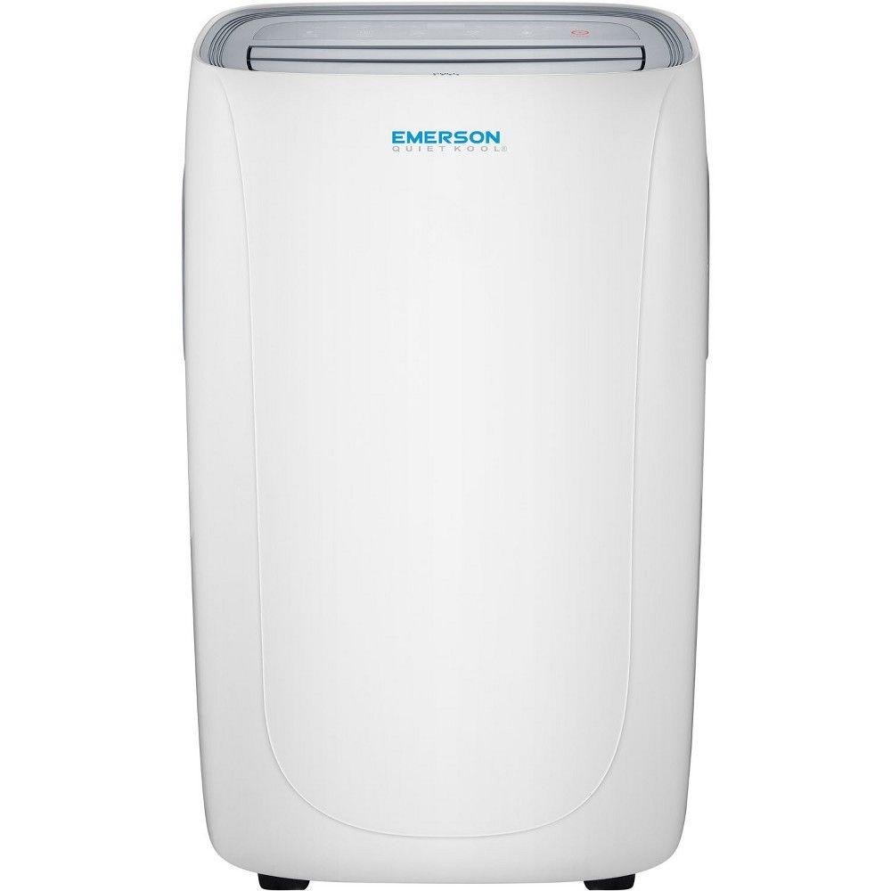 Emerson 12000 Btu Portable Air Conditioner White Portable Air Conditioner Quiet Portable Air Conditioner Portable Air Conditioners
