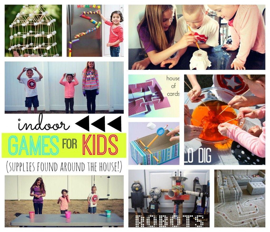 spring breakfun games for kids *supplies found around the