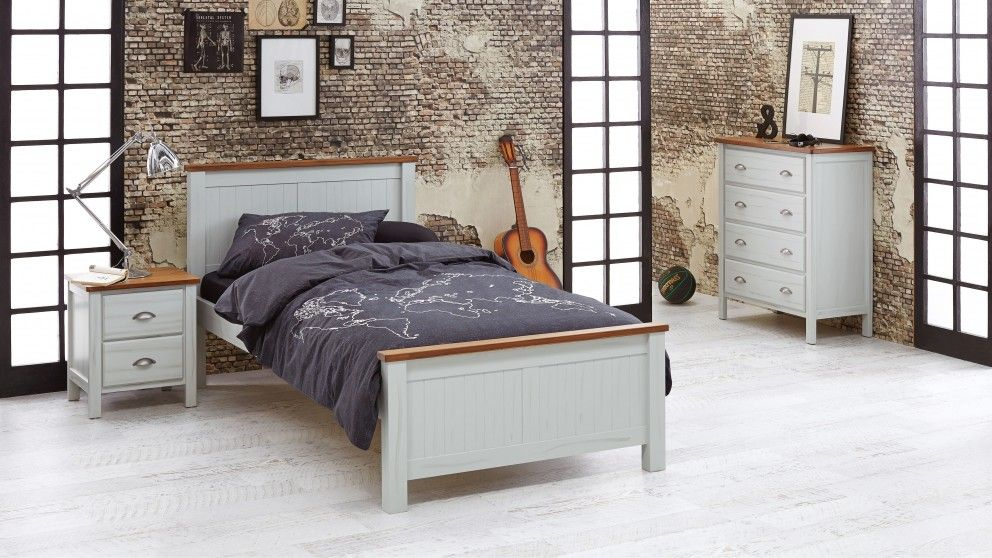 King Single Beds With Desk : Cooper king single bed kids beds suites bedroom