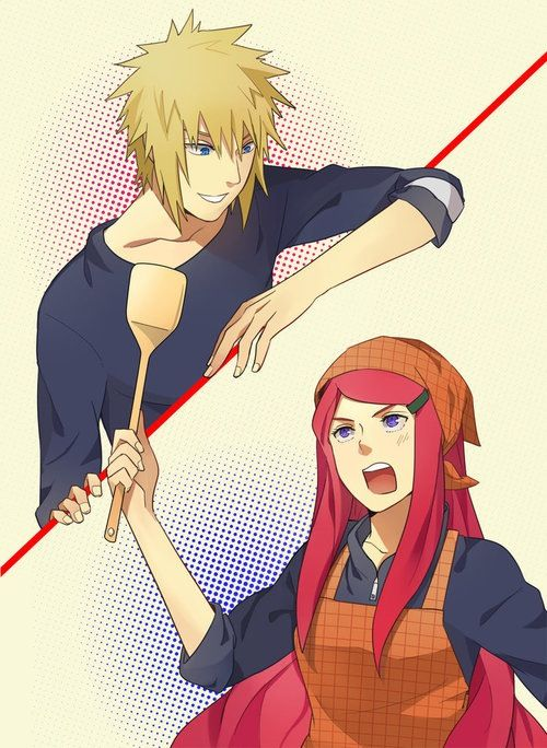 RQ:Minato and Kushina by xXUnicornXx on DeviantArt