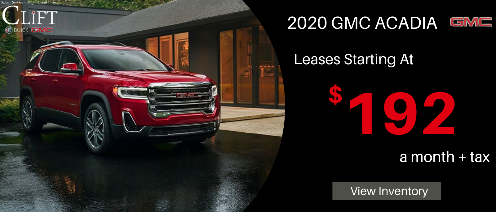 Lease 192 Month Or Save 8 579 Off Msrp In 2020 Gmc New Cars